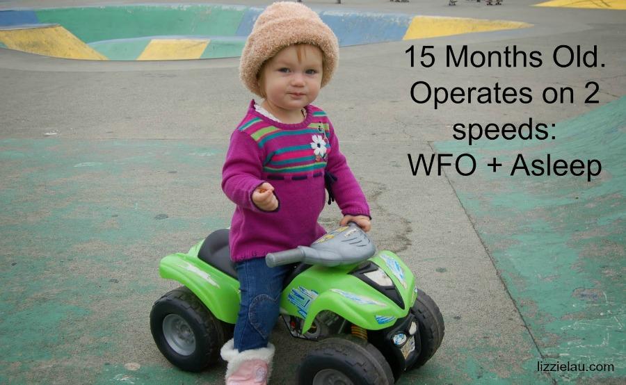 high speed toddler
