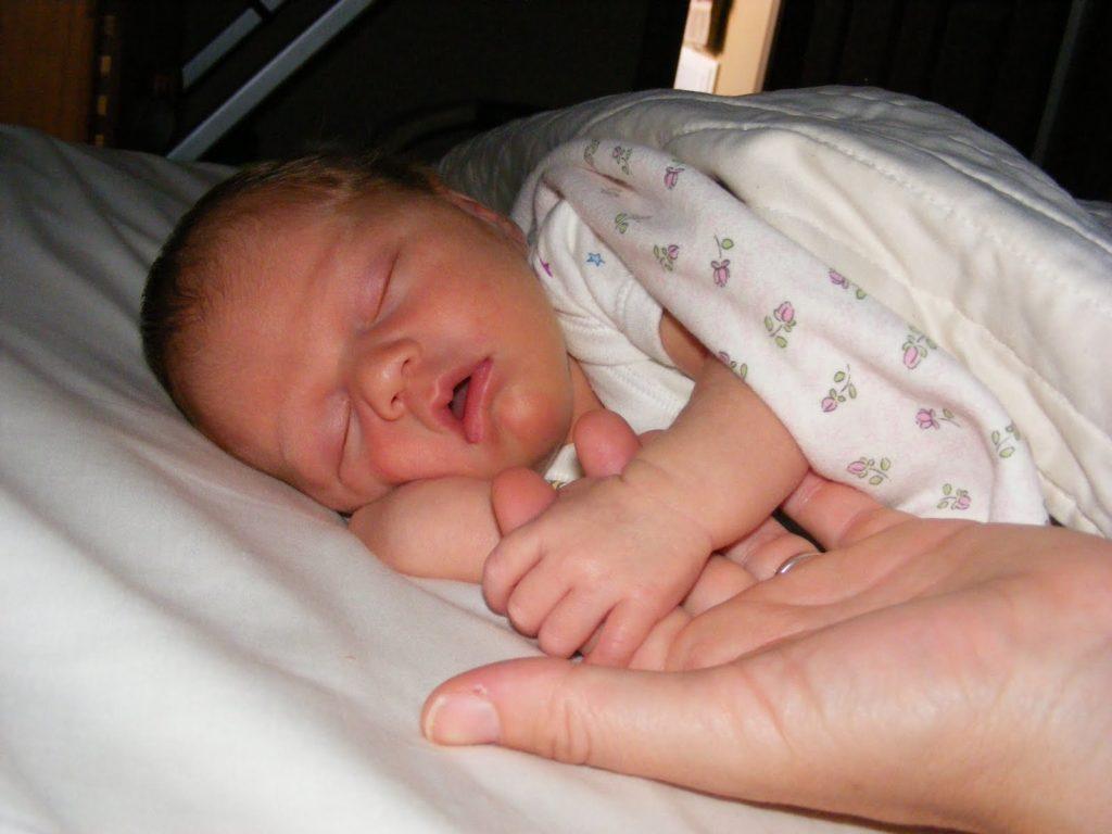 newborn love of my life - only child