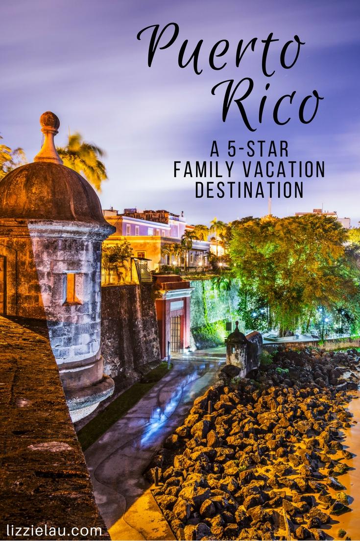Puerto Rico A 5-Star Vacation Destination