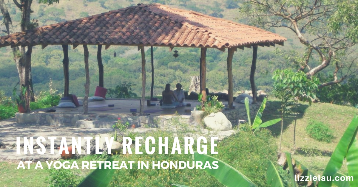 instantly recharge at a yoga retreat in honduras