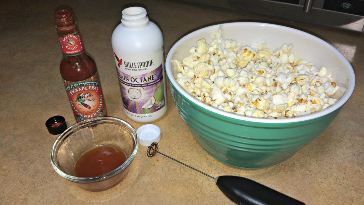 Brain Octane Oil Picante Popcorn