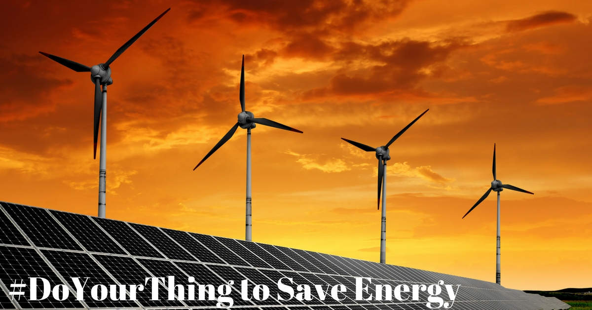 #DoYourThing to Save Energy