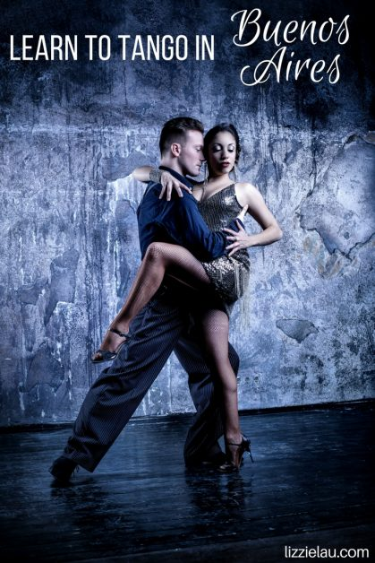You can learn to tango in Buenos Aires Argentina