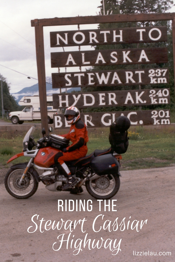 Riding the Stewart Cassiar Highway