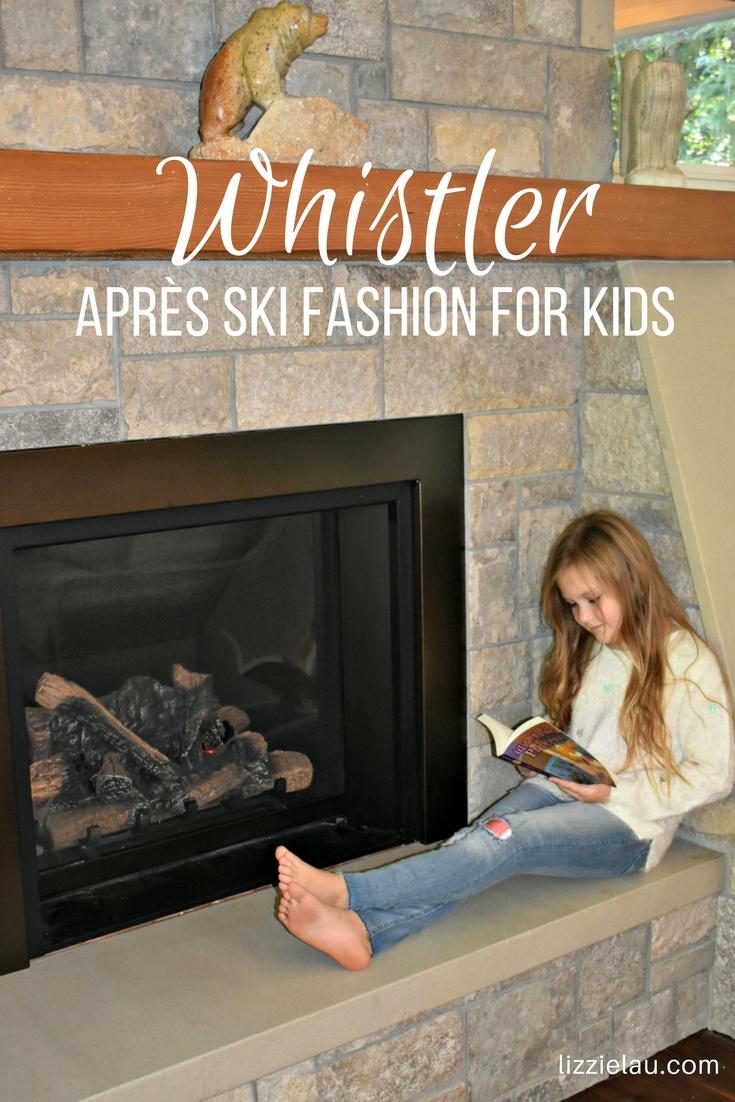 Whistler Après-Ski Fashion For Kids #whistler #bc #pnw #vancouver #canada #familytravel