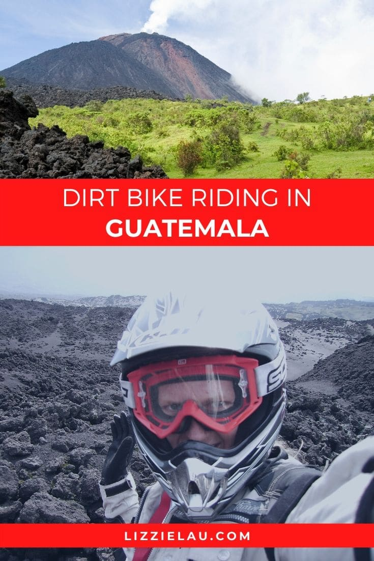 Dirt Bike Riding at Luna Negra Pacaya Volcano #travel #Guatemala
