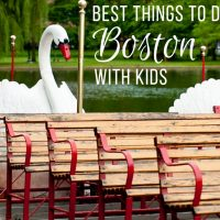 Fun Things To Do In Boston With Kids
