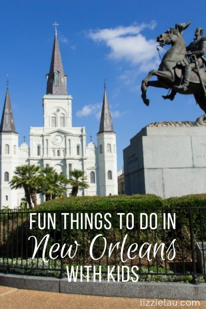 The city is full of history, culture, fantastic food and entertainment so don't hesitate to visit New Orleans with kids. #OneTimeInNOLA #NewOrleans #USA