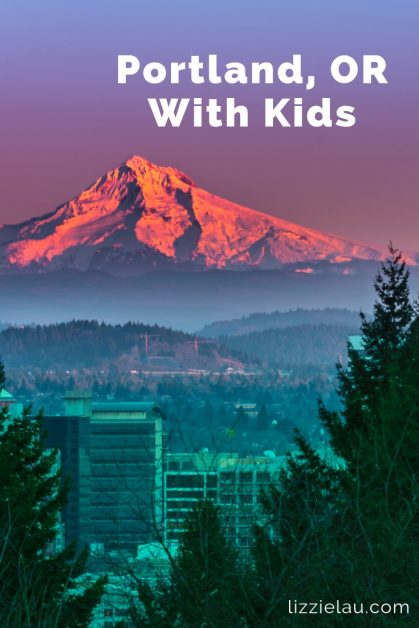 Thinking of visiting Portland with kids? Don't hesitate. This will likely become your favorite city, known for great food, natural beauty, beer and fun! #travel #familytravel #Portland #PNW #USA