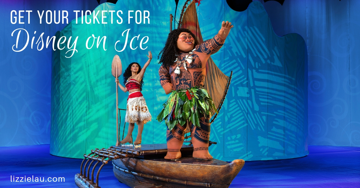 Get your tickets for Disney on Ice