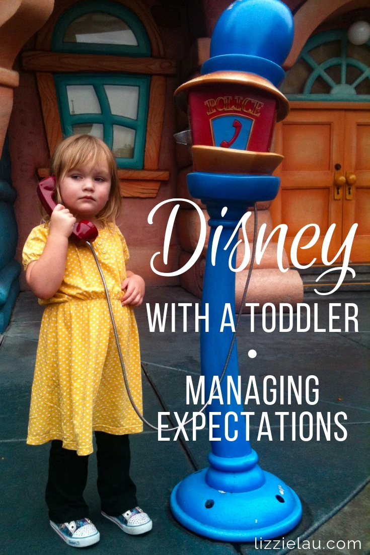 Disney With A Toddler - Managing Expectations