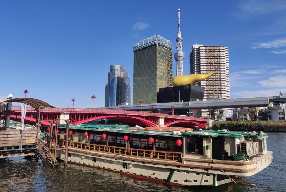 Family Vacation in Tokyo - Sumida River Walk