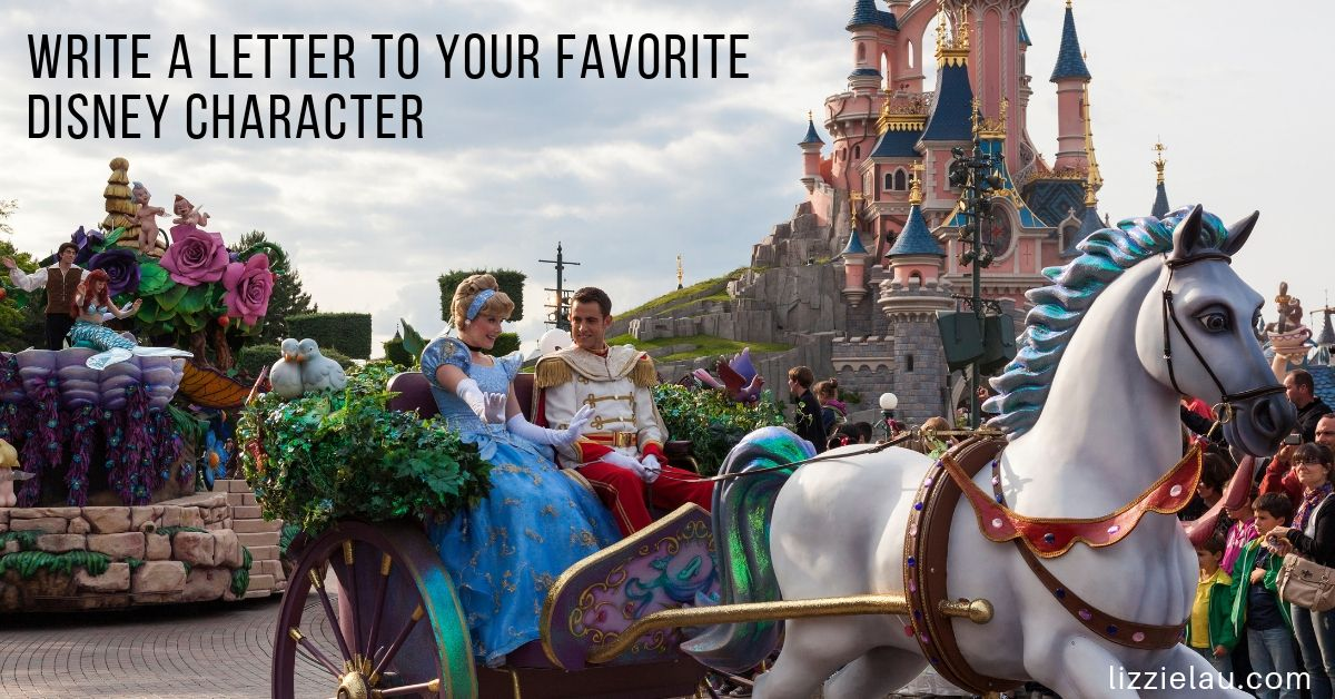 Write a letter to your favorite Disney character and get an autographed postcard in the mail