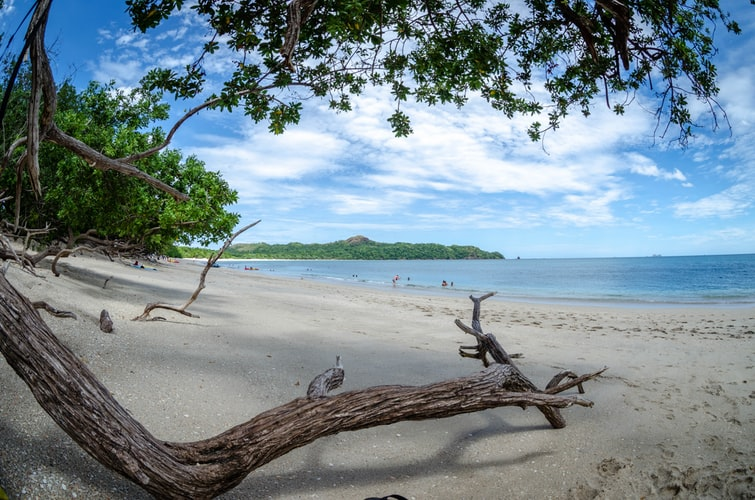 Gorgeous beach destination for yoga in Costa Rica