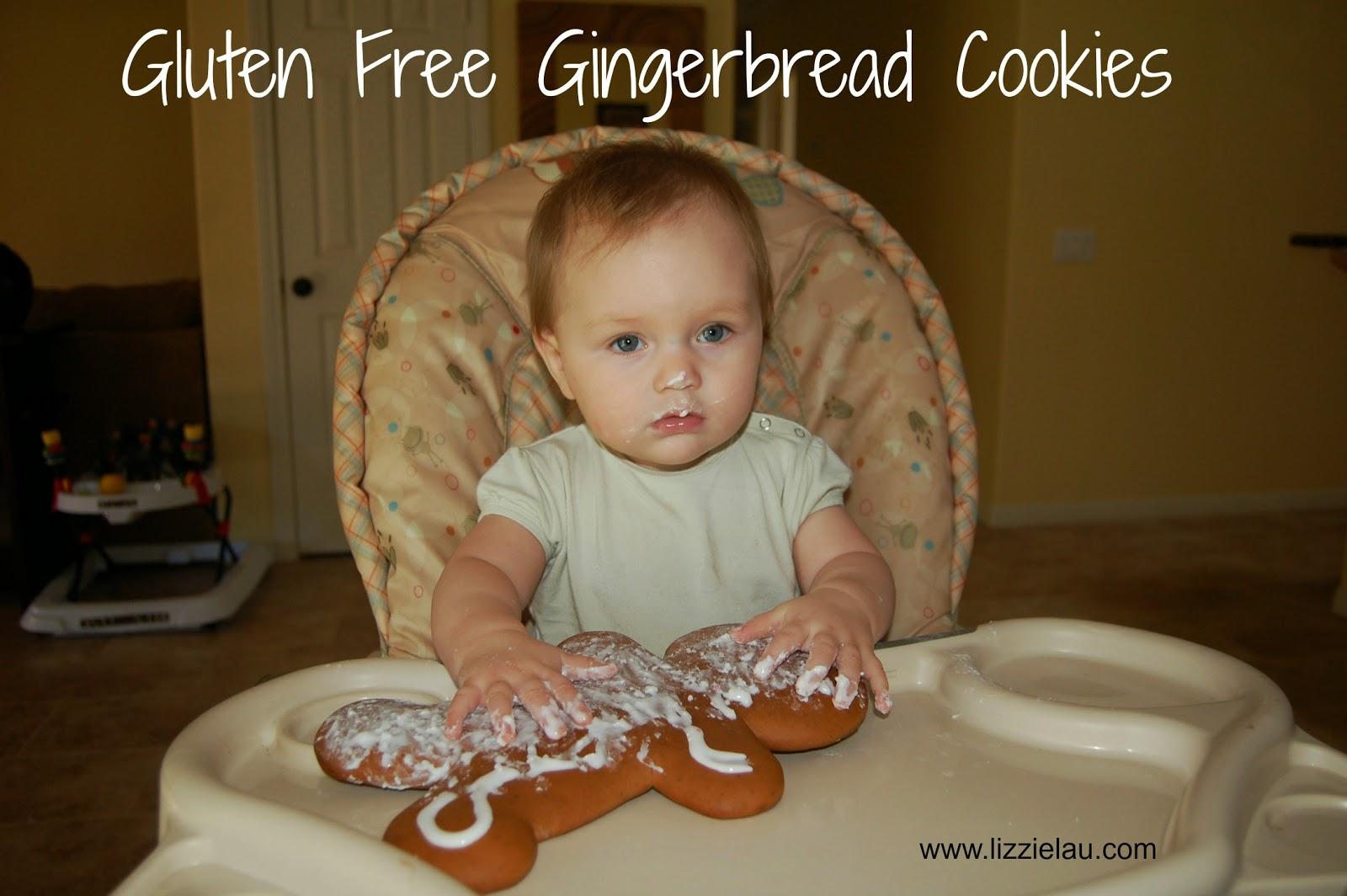 gluten free gingerbread cookie recipe
