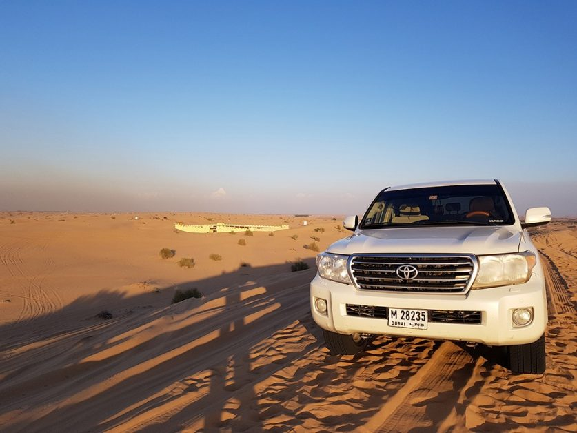 Desert Safari in Dubai with kids