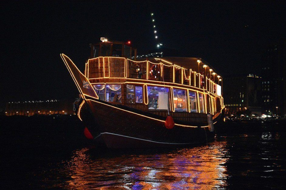 kid friendly in Dubai - Dhow Cruise
