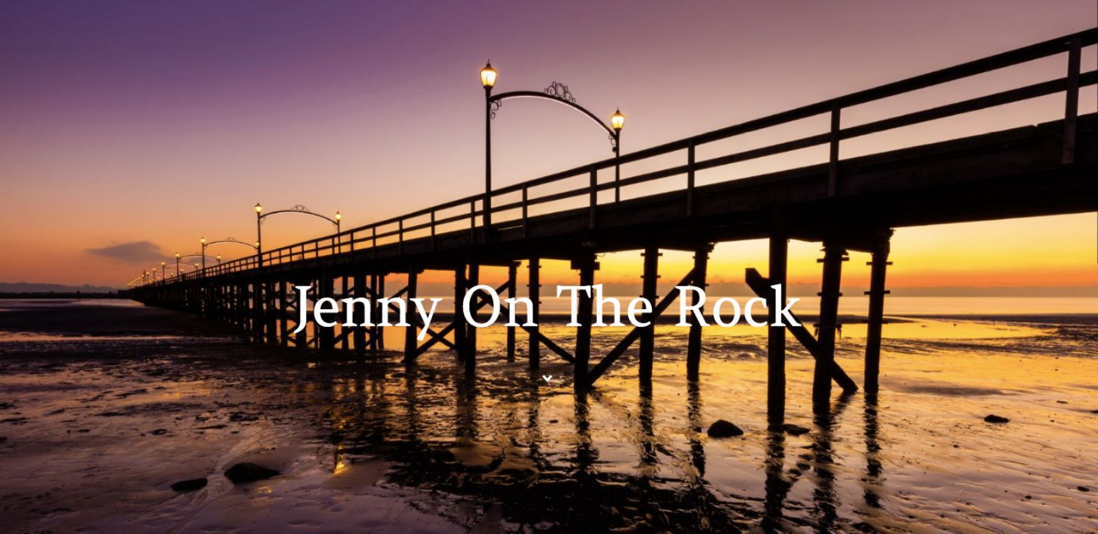 jenny on the rock home page