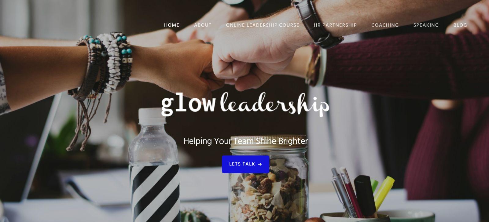 glow leadership site