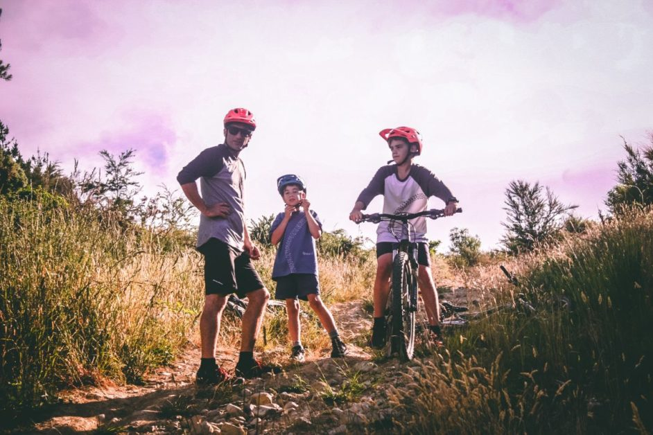 mountain bikes - best hiking trails for kids in Austria