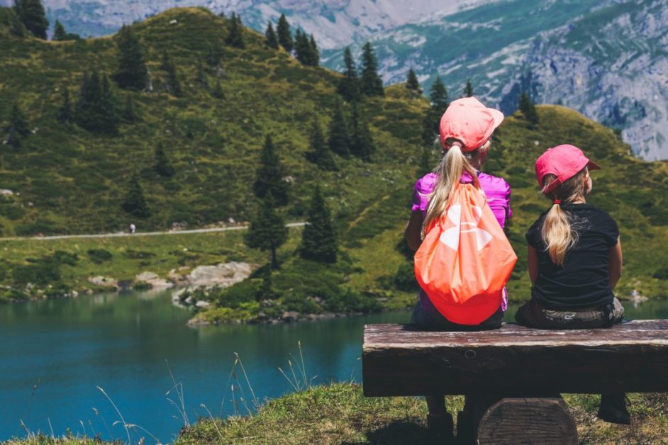 backpacks - best hiking trails for kids in Austria