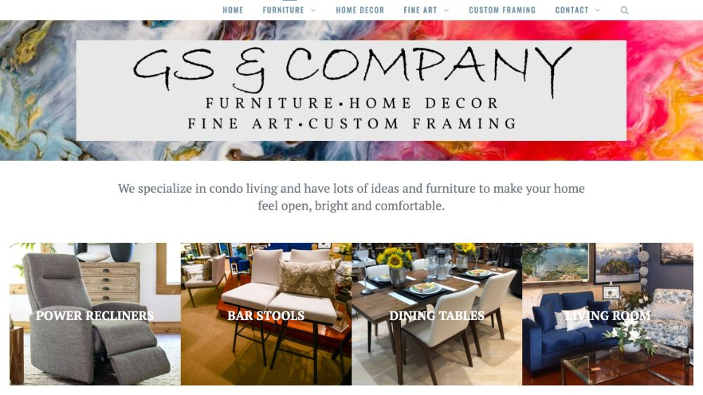 GS and Company website