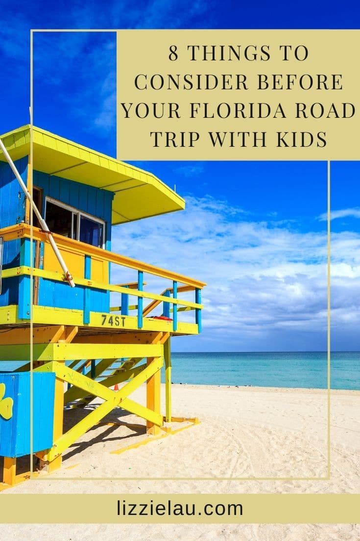 8 Things To Consider Before Your Florida Road Trip With Kids