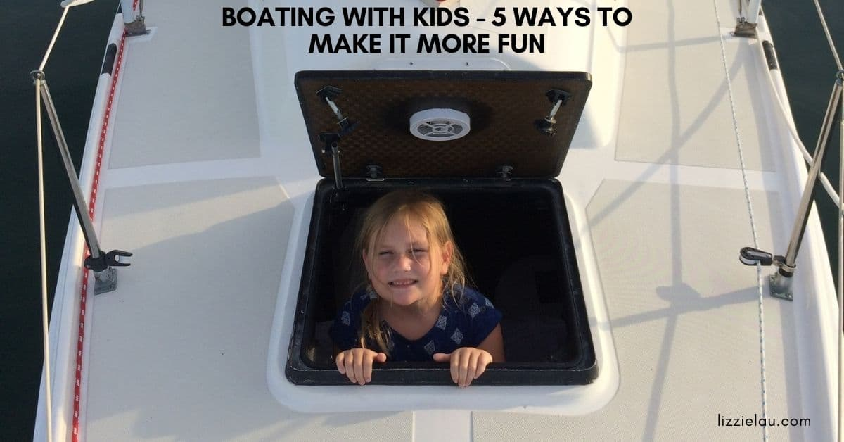 boating with kids